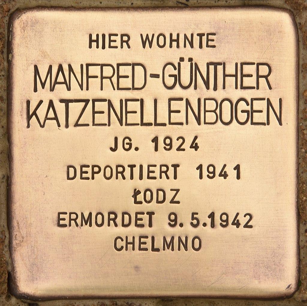 Stolperstein für Manfred-Günther Katzenellenbogen (Liebenwalde).jpg