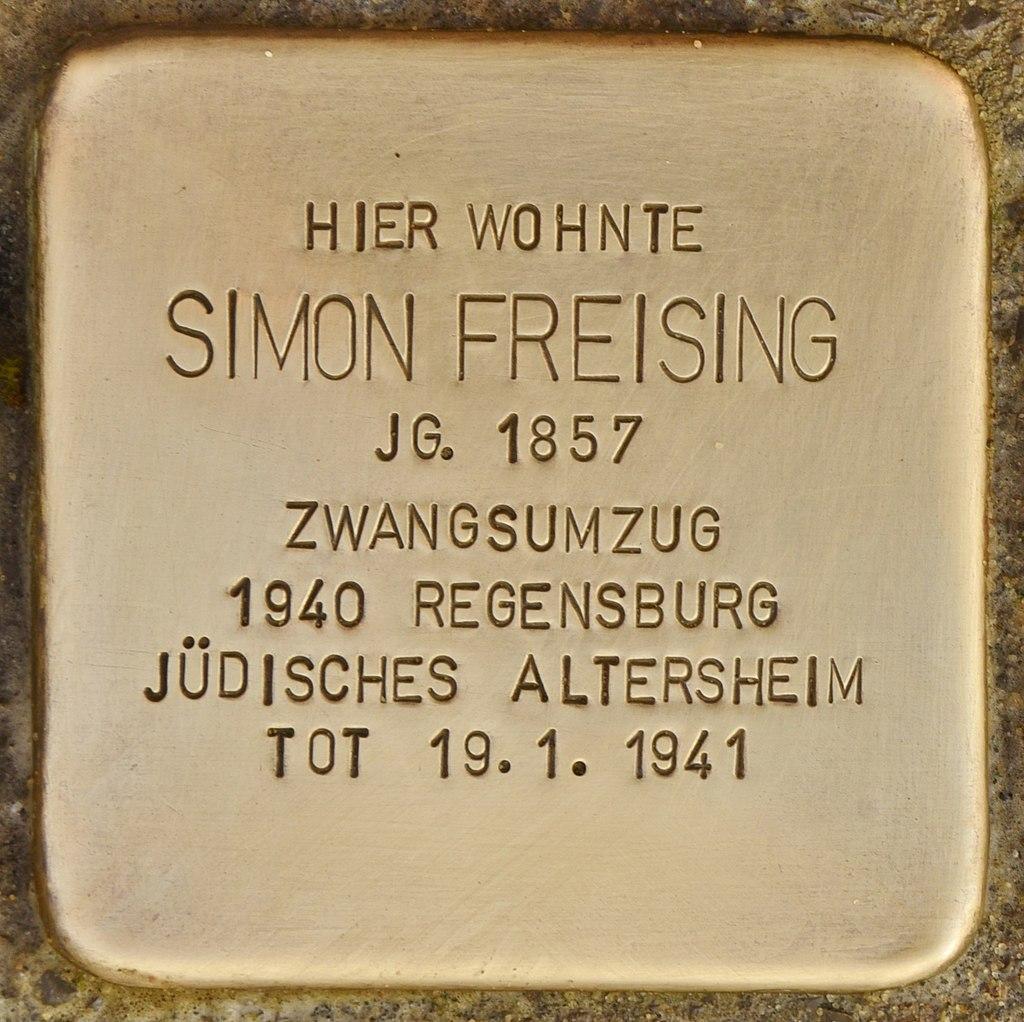 Stolperstein für Simon Freising (Mühlhausen in der Oberpfalz).jpg