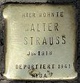 Stolpersteine Köln, Walter Strauss (Aachener Straße 28).jpg