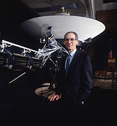 Gold-Plated Record is attached to Voyager 1