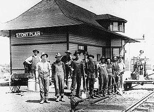 Stony Plain, Alberta - Image: Stony Plain, Alberta (1910)