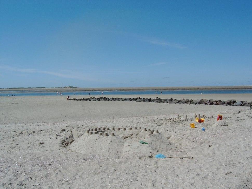 Strand von Utersum bei Ebbe