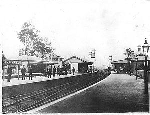 Strathfield railway station - Former Strathfield station