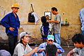 Street barber. Ho Chi Minh City (former Saigon). Vietnam.jpg