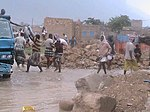 Streets were flooded after the cyclone Socotra Yemen, 01-Nov-2015 VOA.jpg