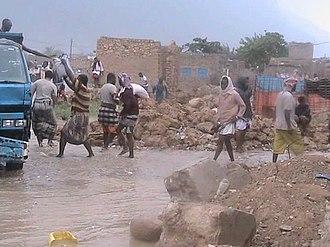 Cyclone Chapala - Flooding in Socotra on 1 November
