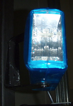 Strobe light - Blue Strobe light