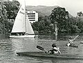 Students on the lake at the University of Stirling.jpg