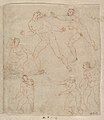 Studies for Apollo and Daphne, Zeus and Juno, Orpheus and Eurydice and other figures (recto and verso) MET DP820292.jpg