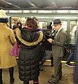 Subway photographer prepares at 2d Av jeh.jpg
