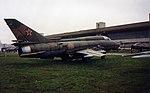 Sukhoi Su-22M Sukhoi Su-22M cn 50820 Khodinka Air Force Museum Sep93 (16944252237).jpg