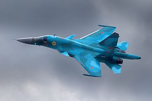 Russian military intervention and aid to Syria #2 - Page 12 300px-Sukhoi_Su-34,_Russia_-_Air_Force_AN1646787
