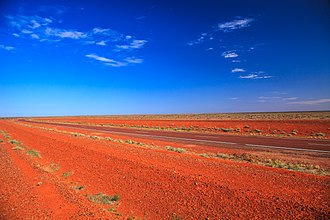 Stuart Highway - The highway in the far north of South Australia