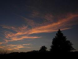 Sunset at Kausani.JPG