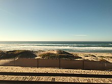 Surf Beach As Seen From The Amtrak Pacific Surfliner