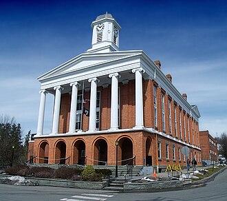 Susquehanna County, Pennsylvania - Image: Susquehanna County County Seat
