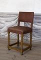 Svarvad stol av ek, 1650 cirka - Skoklosters slott - 103849.tif