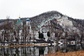 Sviatohirsk - Sviatohirsk monastery