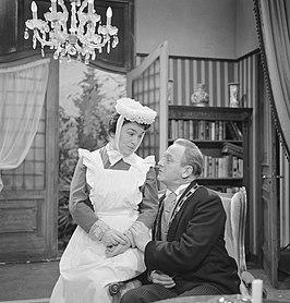 Jetty Cantor en Rien van Nunen in Swiebertje (1964)