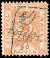 Switzerland Bern 1880 revenue 30rp - 12B.jpg