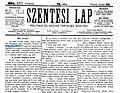 Szentesi Lap címoldal (1894.06.22.).jpg