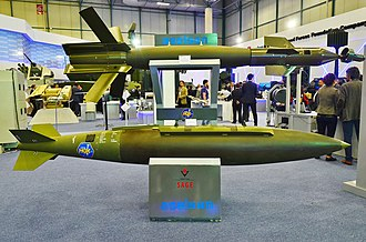 TÜBİTAK Defense Industries Research and Development Institute - Precision guidance kit HGK at the stand of TÜBİTAK during the IDEF 2015.