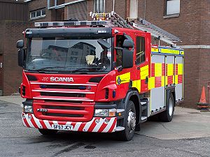 Strathclyde Fire and Rescue Service - Image: T01 A2