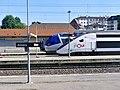 TER et TGV au repos en gare d'Annecy (juin 2019).JPG