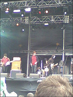 I Dogs in concerto al T In The Park (2007)