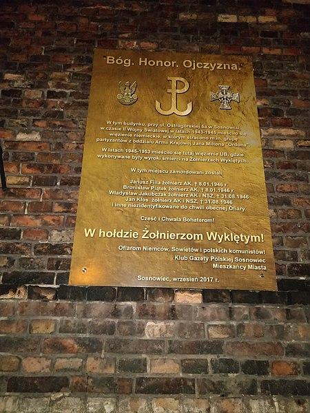 File:Tablica Ostrogórska sosnowiec.jpg