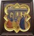 Taddeo gaddi, storie di cristo e di s. francesco (armadio di s. croce), 1335-40 ca. 06 cristo tra i dottori.JPG