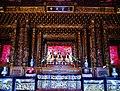 Taipeh Guandu Temple Haupthalle Innen 04.jpg