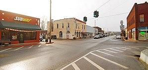 Talihina, Oklahoma - historic downtown Talihina