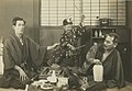 Tatsuo Saitō, Tomio Aoki and Takeshi Sakamoto in Tokkan kozō (1929).jpg