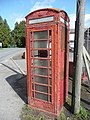 Tatty 'phone box at Wormelow - geograph.org.uk - 762702.jpg