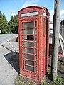 Tatty 'phone box at Wormelow - geograph.org.uk - 762702.jpg