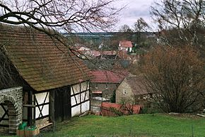 Tautendorf (Thüringen), view from the church hill.jpg