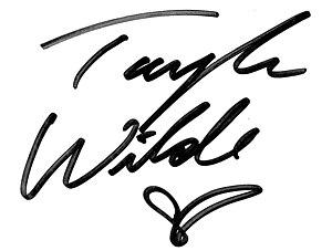 Taylor Wilde - Wilde's autograph