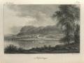 """Teckning av Hoverberget i """"Sverige framstäldt i teckningar"""" av Gustaf Henrik Mellin, Stockholm 1837-1840.tif"""