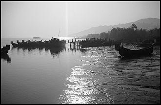 Teknaf Upazila - Teknaf port