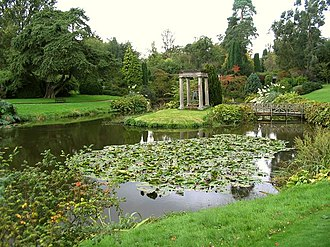 Cholmondeley, Cheshire - Temple Gardens