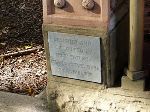 Temple of Peace (Toowong Cemetery) - Image: Temple Of Peace 6