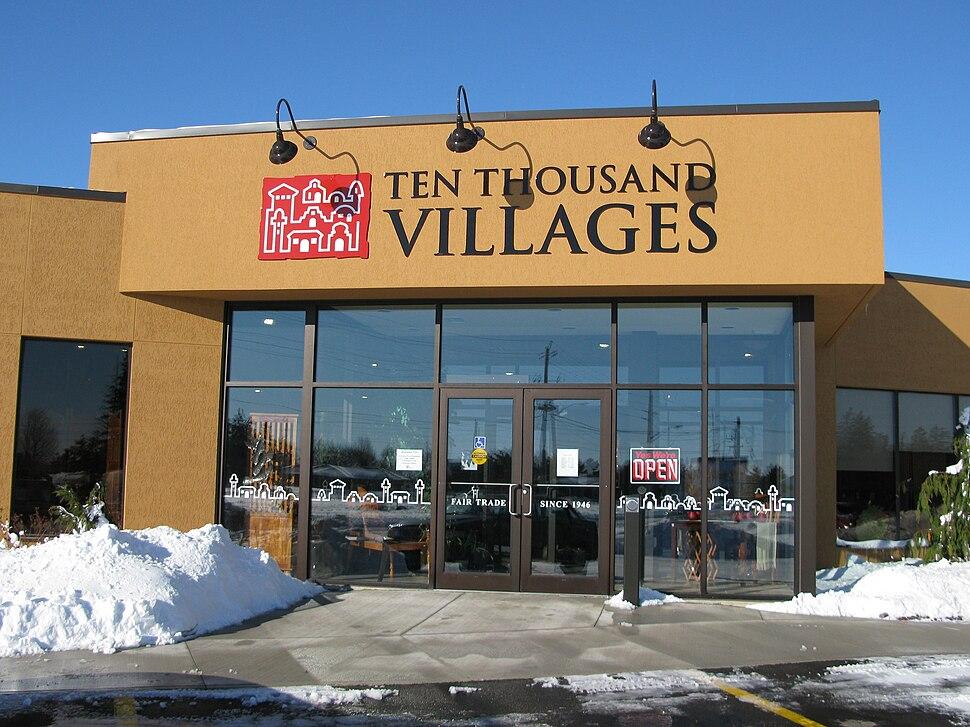 Ten Thousand Villages store in New Hamburg, Ontario