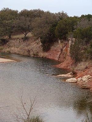 Crabapple, Texas - Crabapple Creek