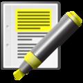 Text-x-generic-highlight-yellow-pen.png