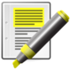 Text-x-generic-highlight-yellow-pen.png