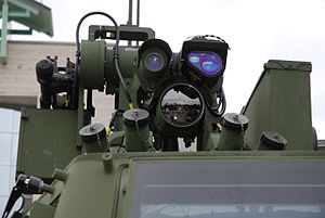 Textron Tactical Armoured Patrol Vehicle - View of Protector_(RWS).