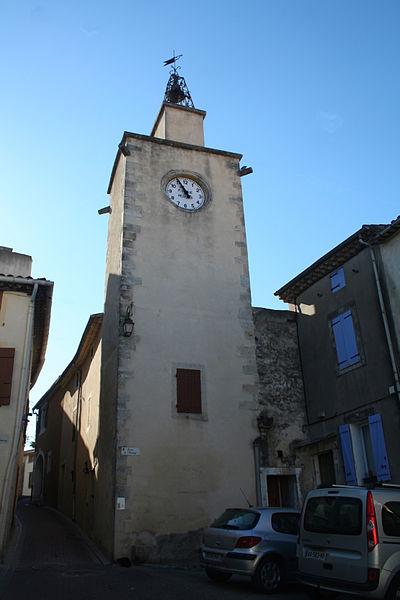 Thézan-lès-Béziers (Hérault) - tour horloge