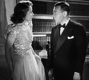 Thank You, Mr. Moto (film) - Jayne Regan and Peter Lorre in Thank You, Mr. Moto
