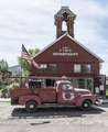 "The 1882 firehouse in the town of Ridgway, which calls itself the ""Gateway to the San Juans,"" in the Rocky Mountains of Colorado LCCN2015632431.tif"